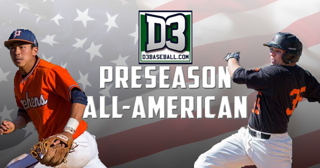 Two SCIAC Players Named to D3baseball.com Preseason All-American