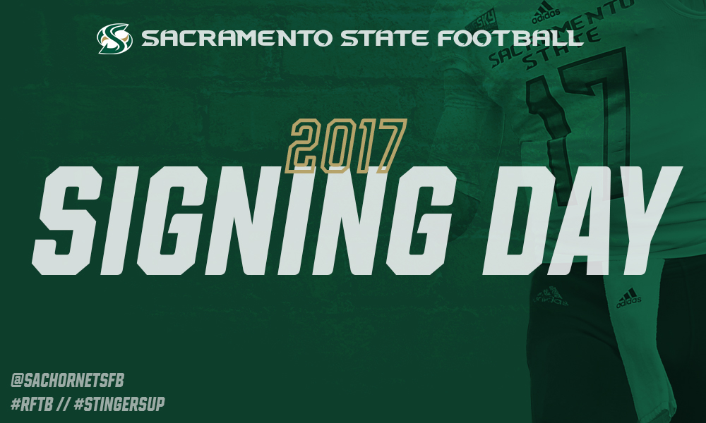 FOOTBALL ANNOUNCES 2017 SIGNING CLASS