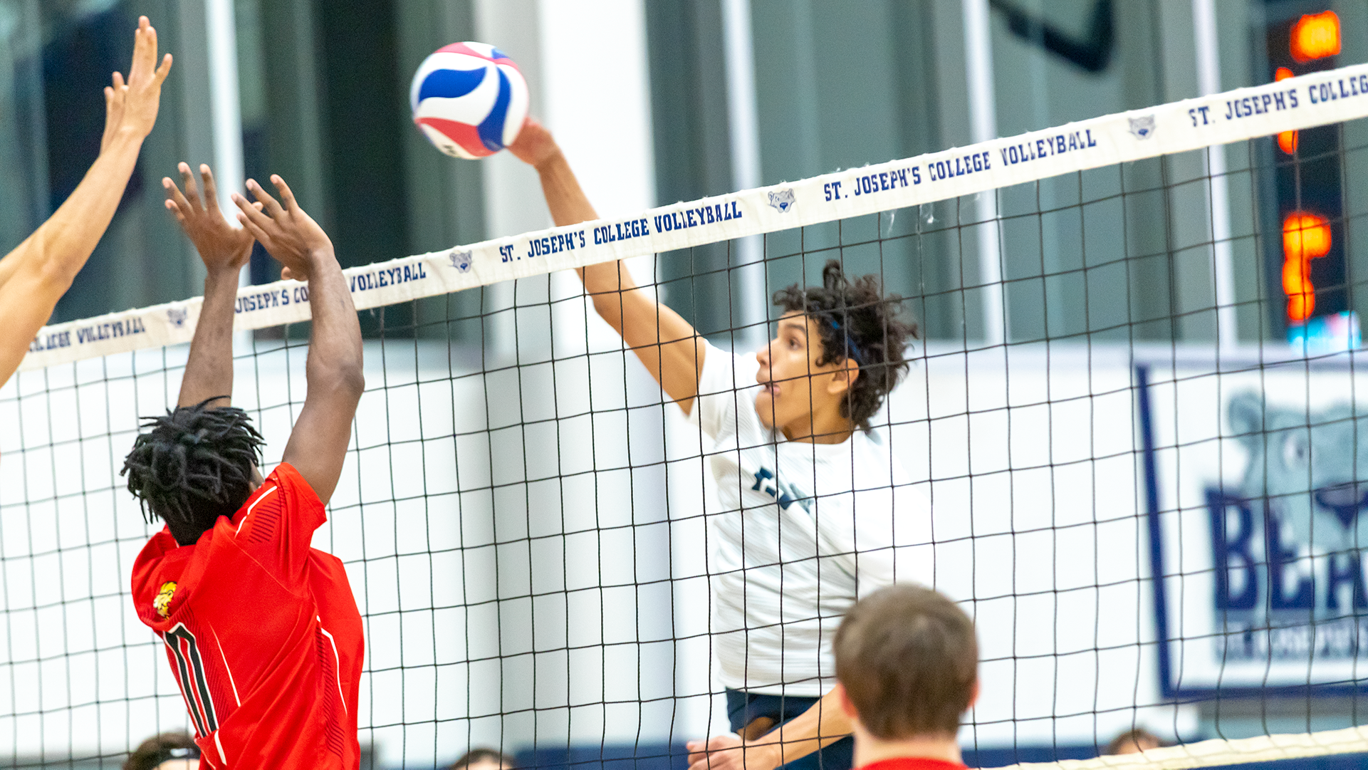 Men's Volleyball Pushes Brooklyn to the Limit in Hard-Fought Loss