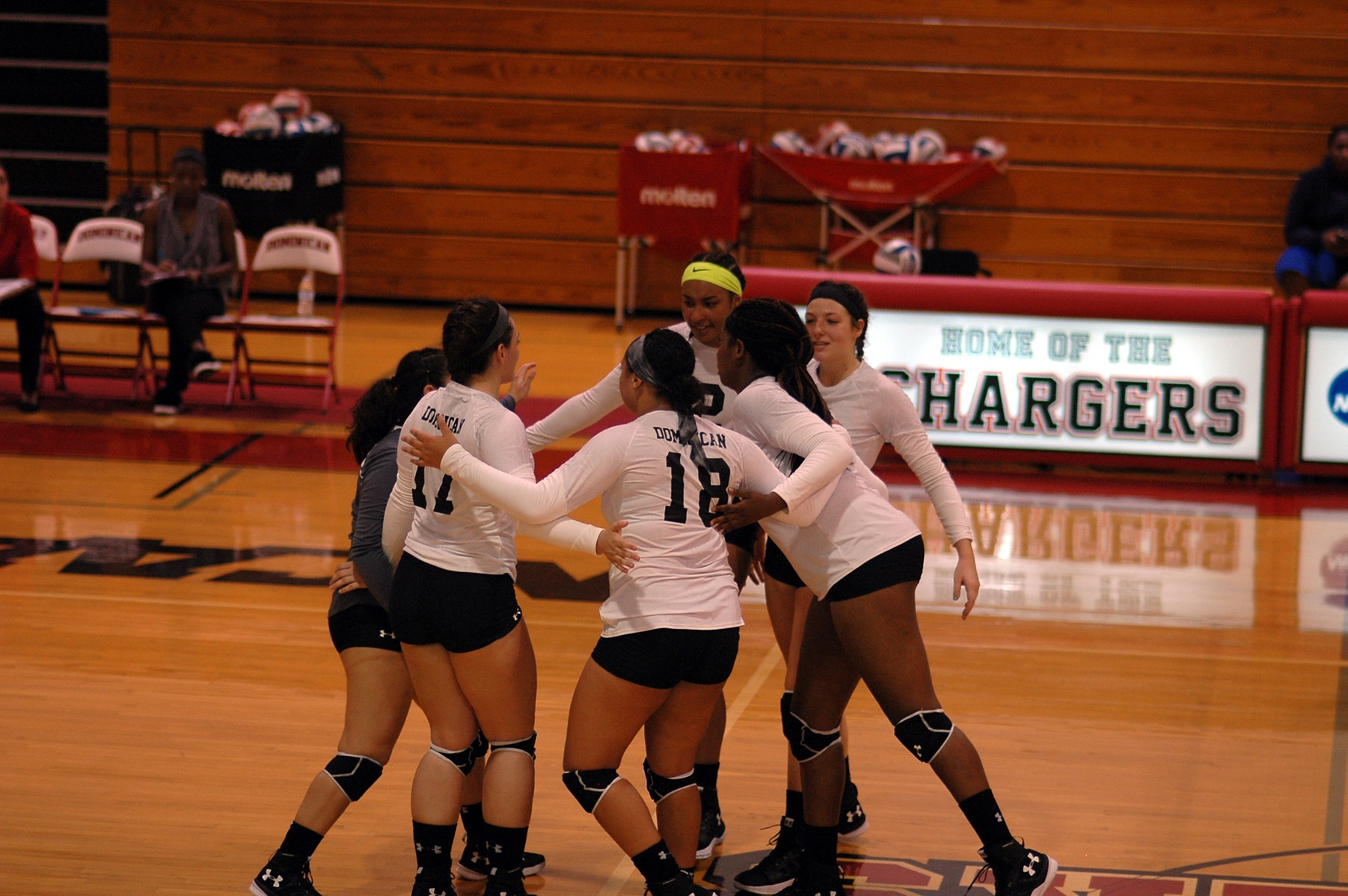 GRIFFINS OUTLAST LADY CHARGERS