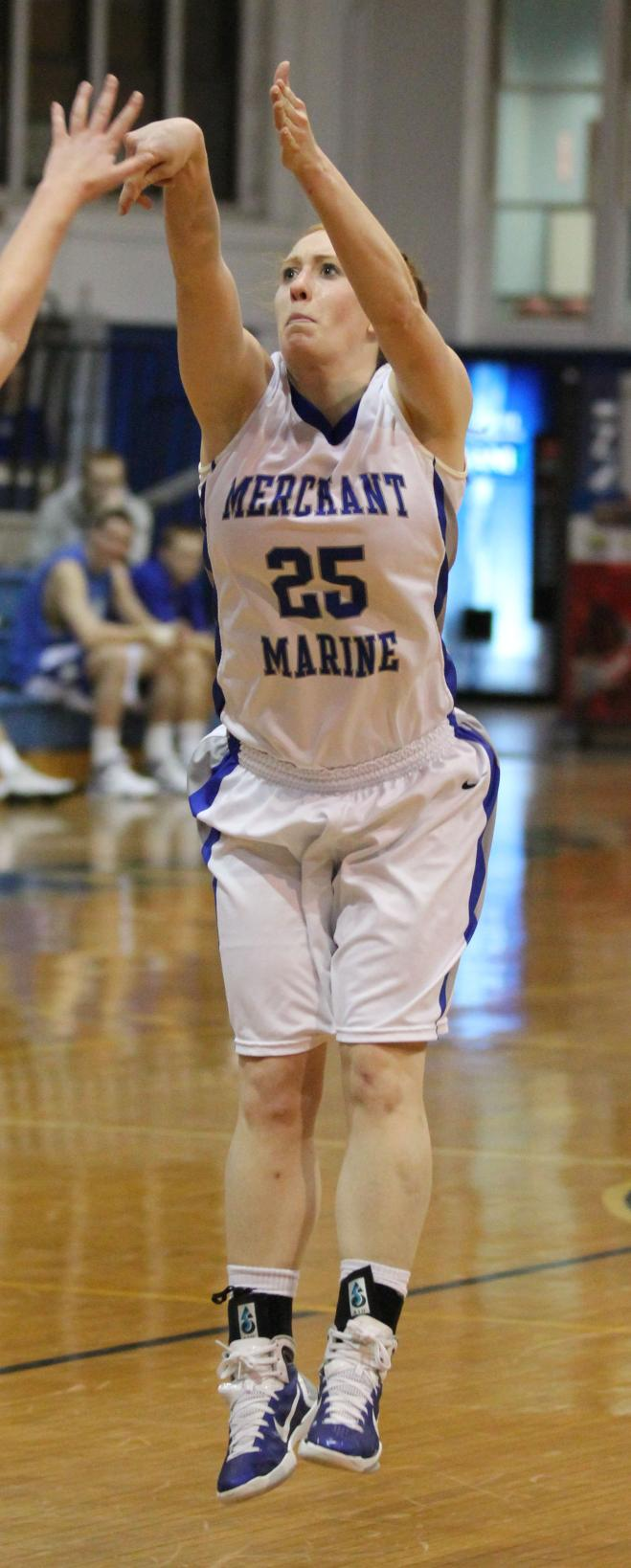 Grimes Eclipses 1,000 Pts. as Women's Basketball Topped by CUA