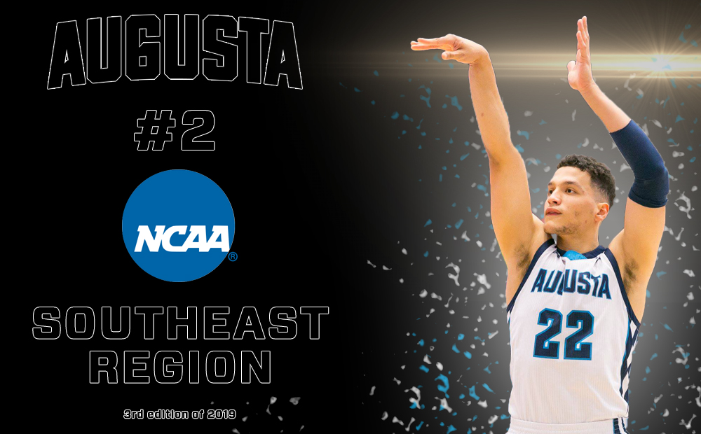 Augusta Climbs To No. 2 In NCAA Southeast Region