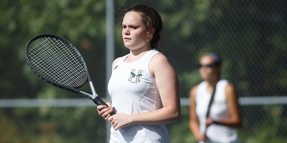 Women's Tennis Drops Final NAC Match of Season to Colby-Sawyer, 9-0