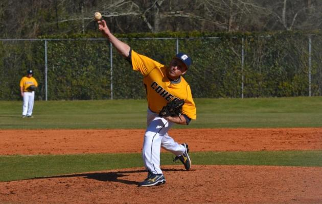 Clutch Pitching Gives Coker Two Wins Over Barton