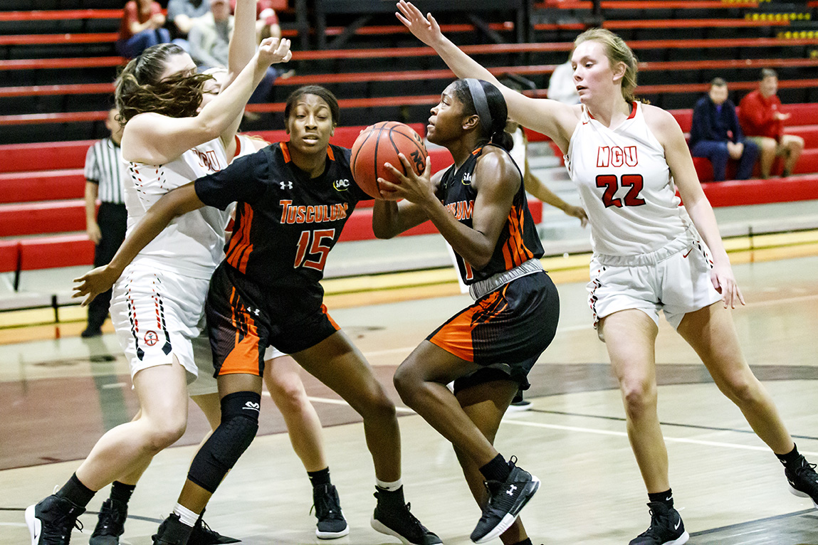 Women's Basketball rallies to 68-64 win North Greenville