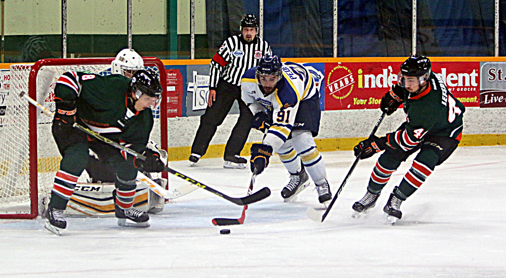 MHKY | Voyageurs Upset #8 Ranked Lions in Double OT