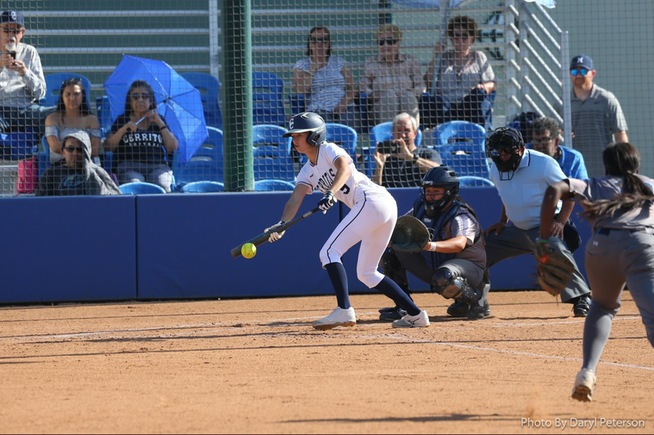 File Photo: Tena Spoolstra went 4-for-4 with four runs scored and five stolen bases against Grossmont