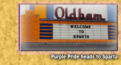Purple Pride Caravan takes on Sparta Thursday