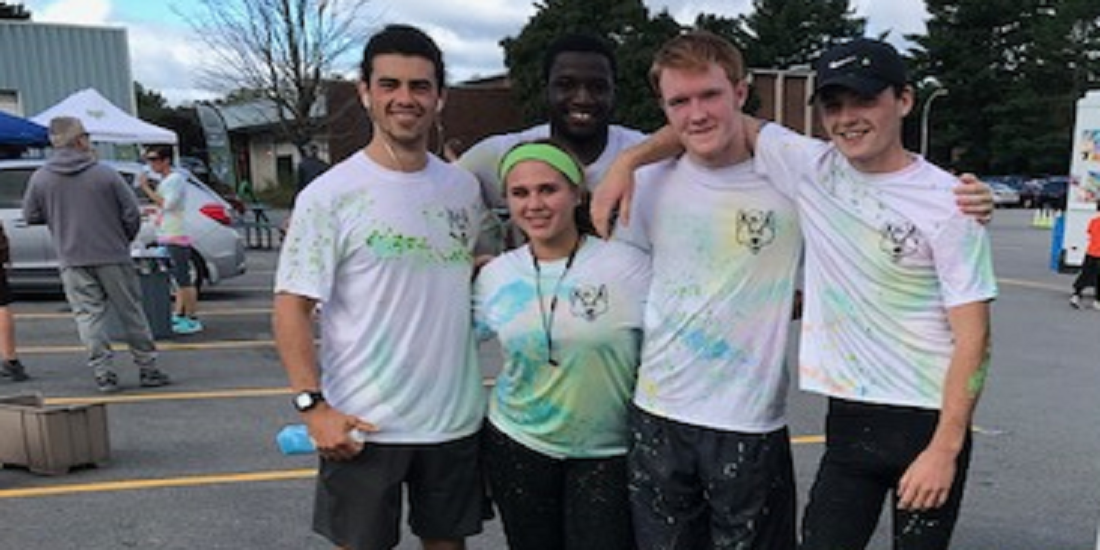 Cross Country Runs In Color Run