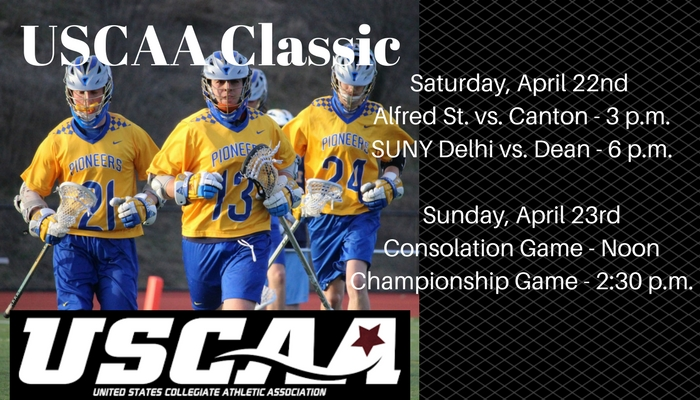 USCAA Lacrosse Classic to Be Held This Weekend