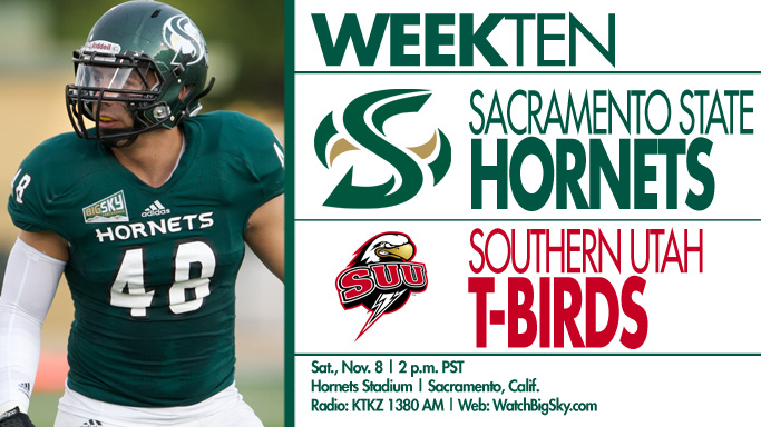 FOOTBALL TAKES ON SOUTHERN UTAH ON SATURDAY AFTERNOON