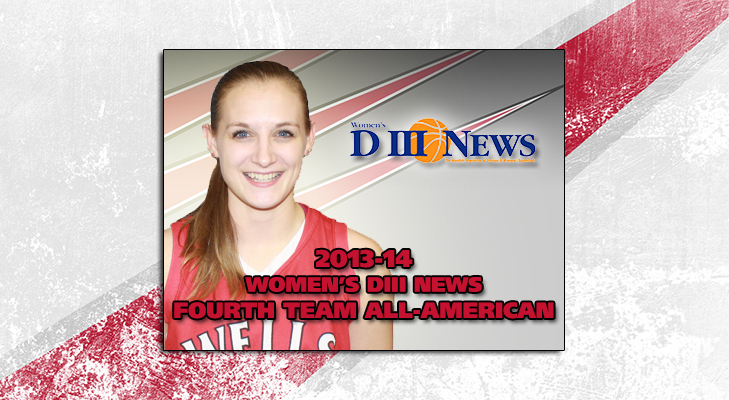 Roser Selected To Women's DIII News Fourth Team All-American Squad