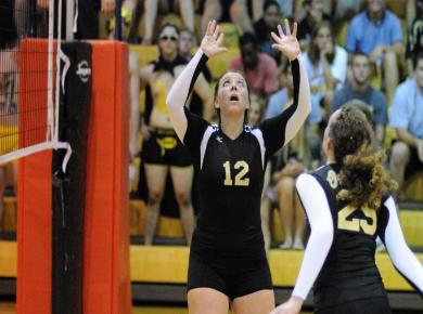Volleyball Captures 10th Place at SCAC Tournament