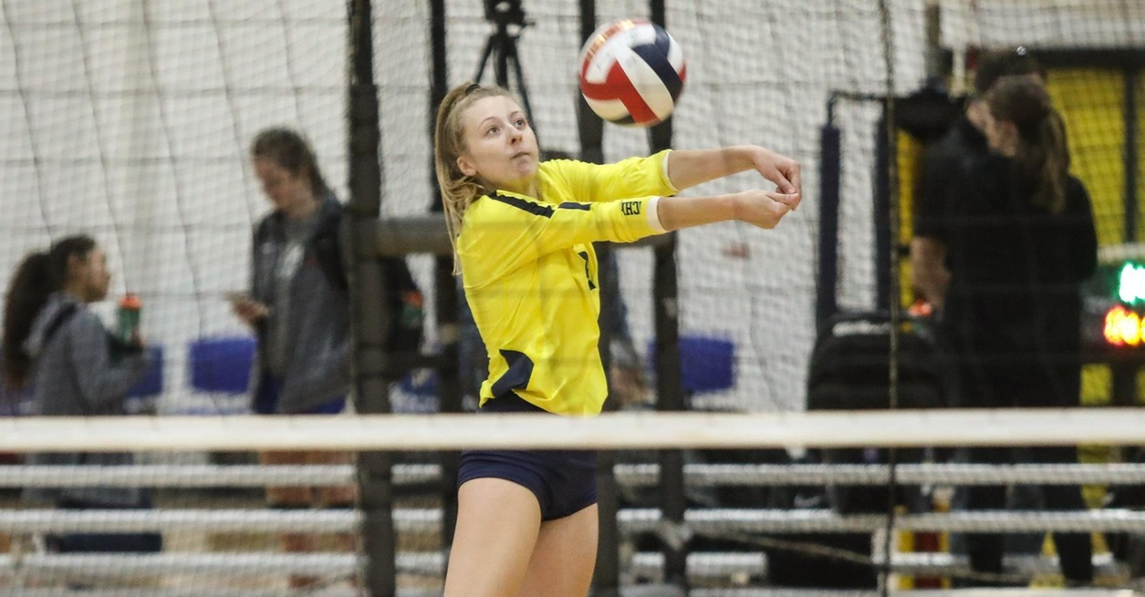 UM-Dearborn rallies for 5-set win at CUAA