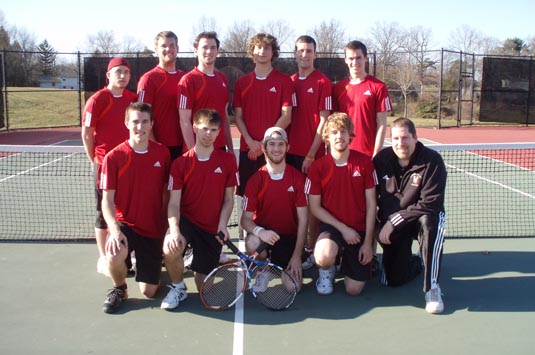Men's Tennis finishes with 8-1 win over Albright