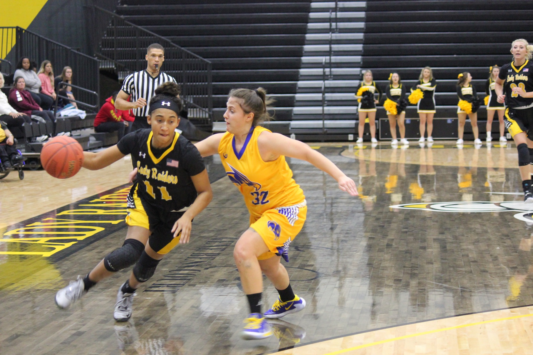Depth helps Lady Raiders fatigue State Fair