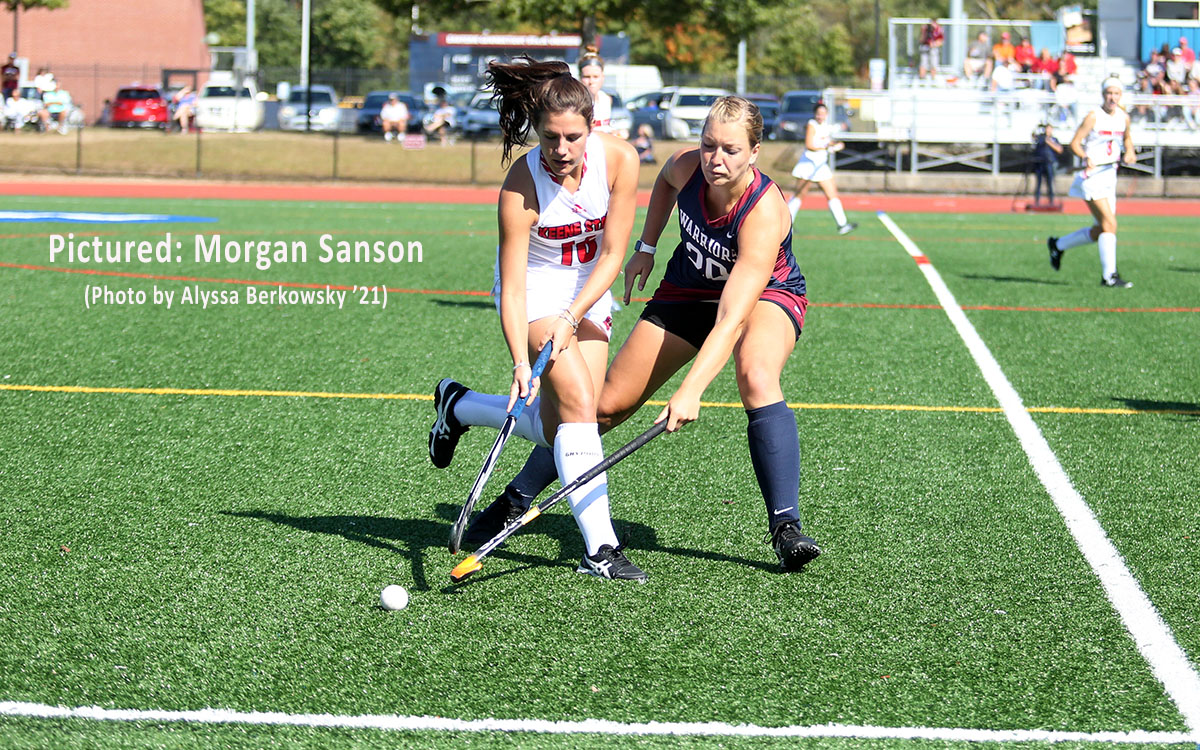Field Hockey: Defending Little East Playoff Champion Keene Spreads the Wealth, Getting Goals From Five Players in Win