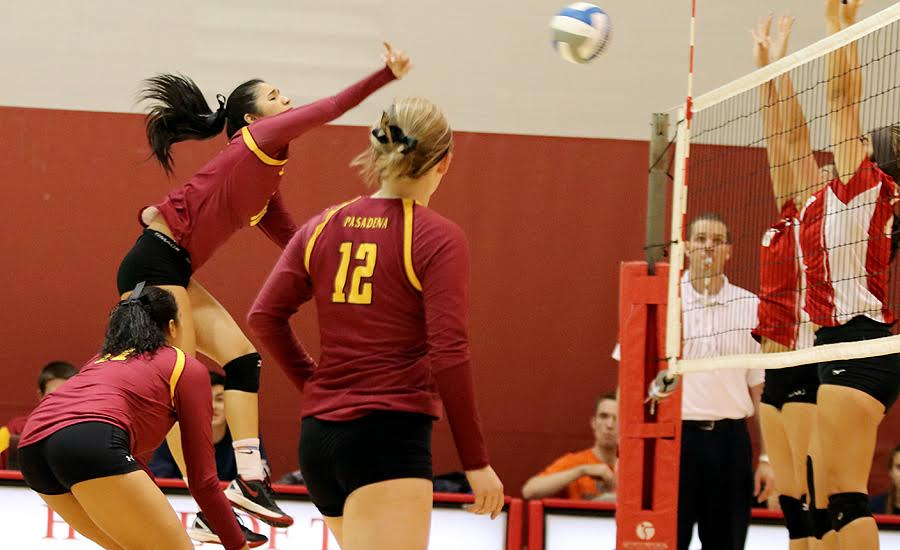 Home Hitting Keeps Women's VB Perfect At Hutto-Patterson Gym