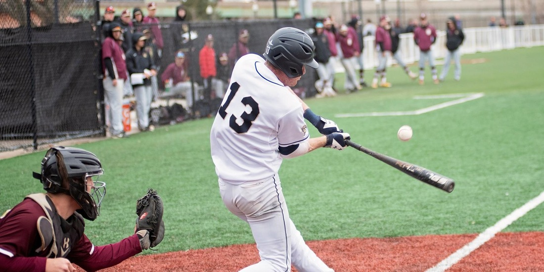 Baseball Walks Off in Eighth to Defeat Lasell, 3-2