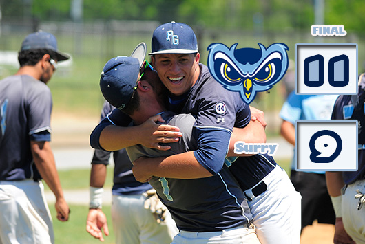 Five-Run Seventh Propels Prince George's Baseball Past Surry 11-9 To Win NJCAA Division III District D And Claim Spot In World Series
