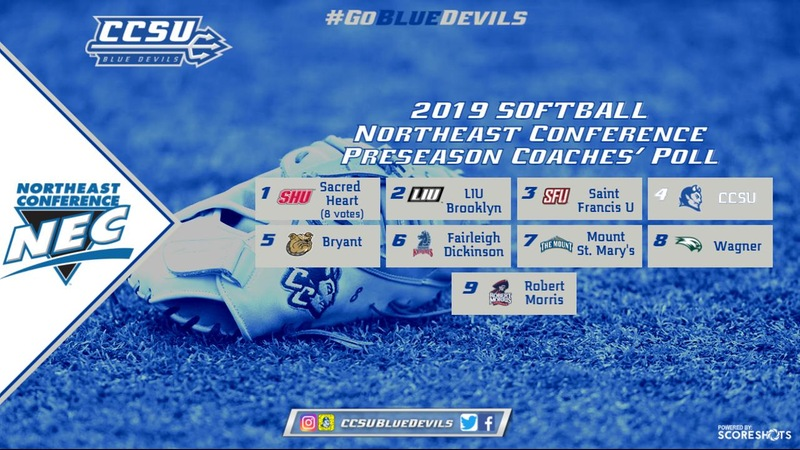 Softball Picked Fourth in NEC Preseason Coaches' Poll