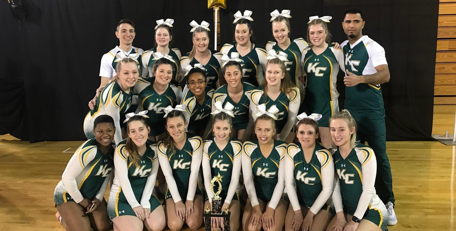 The Wolves took second in the Small Co-ed Advanced division on Sunday