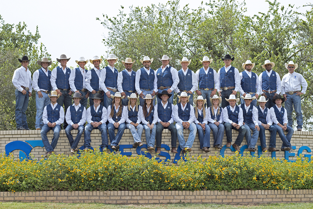 OC Competes in the Vernon College Rodeo