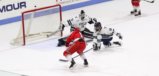 Yale defeats RPI, takes 1-0 series lead