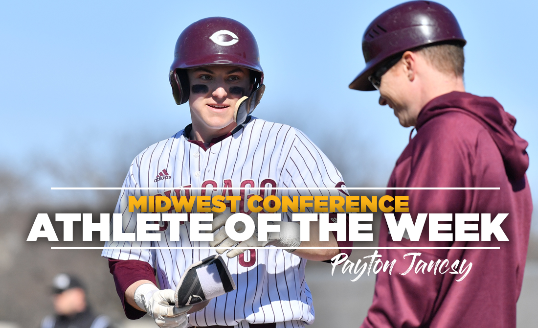 Payton Jancsy Receives MWC Baseball Player of the Week Accolades