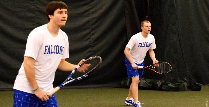 Johnson, top doubles team earn Men's Tennis All-NACC honors