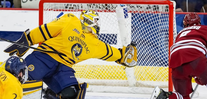 Quinnipiac Shuts Out No. 1 UMass for Seventh Straight Win