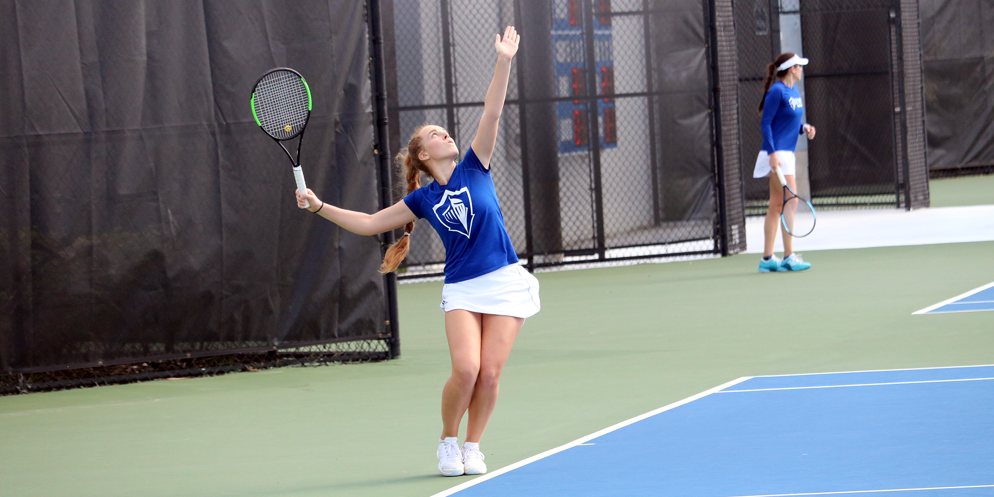 Women's Tennis Blanks Hillsdale in Return to Action