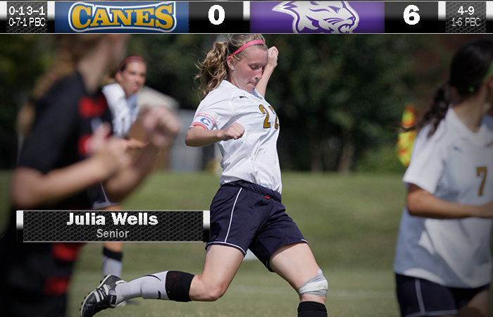 Lady 'Canes Downed On Senior Day, 6-0