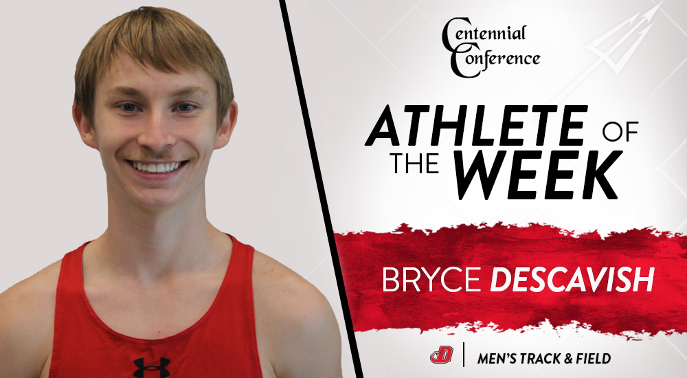 Descavish Named CC Track & Field Athlete of the Week