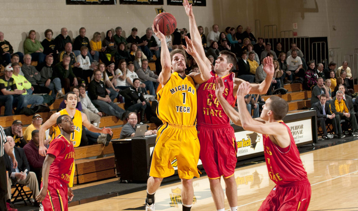 Ferris State Takes Michigan Tech To Wire In Narrow Road Setback
