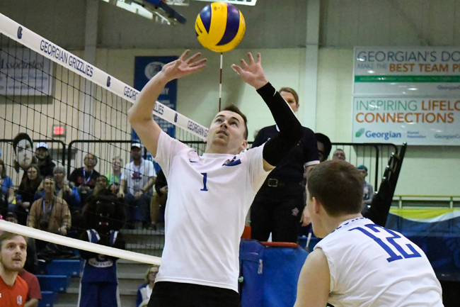 MEN'S VOLLEYBALL SWEEP COLTS