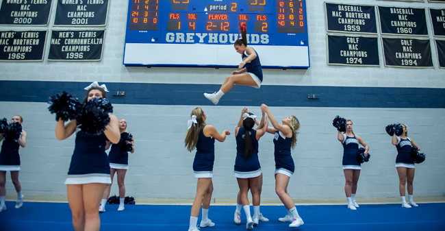 Moravian College Cheer Classic Set for January 10, 2016