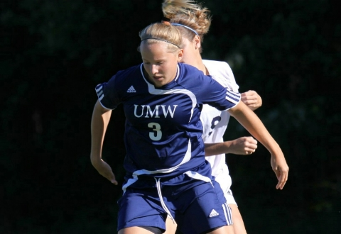 Reynolds' OT Goal Lifts UMW Women's Soccer Past York in CAC Tourney 1st Round