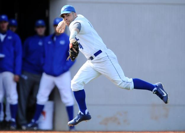 Baseball Drops Doubleheader at Monmouth