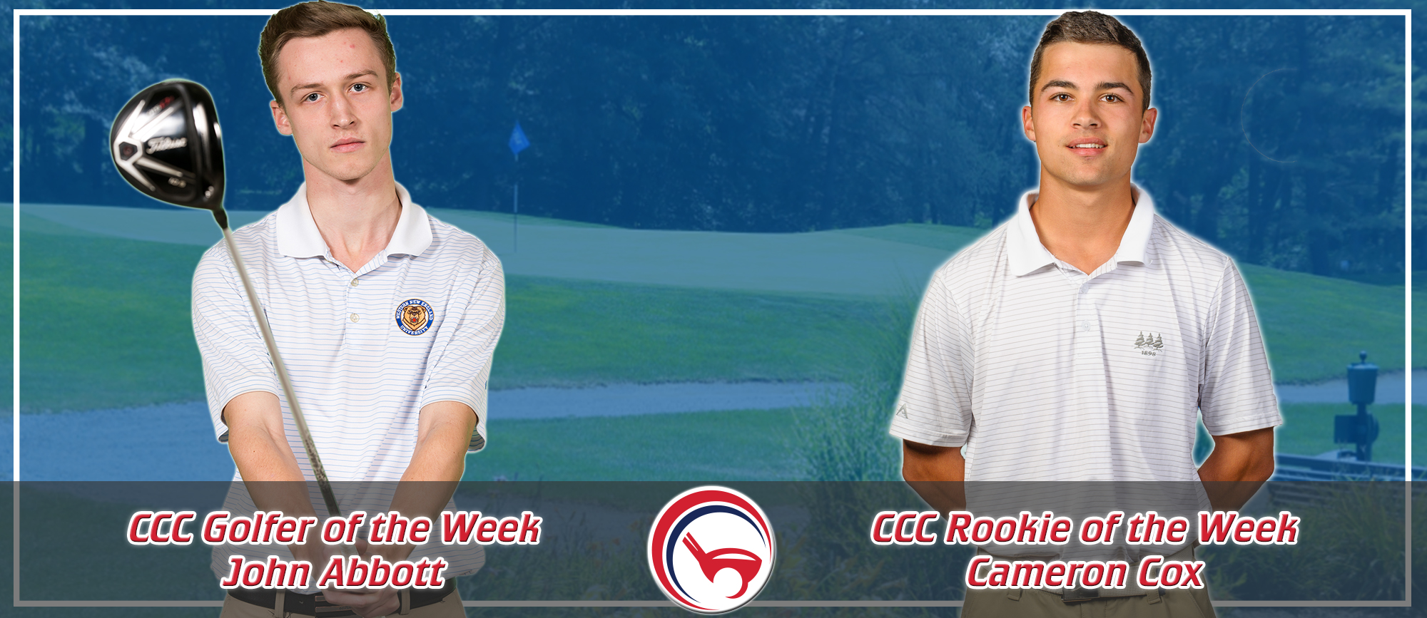 John Abbott & Cameron Cox Receive Weekly CCC Awards