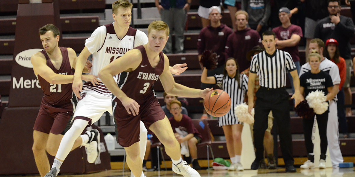 Evangel Basketball Rallies Back to Knock off William Woods, 81-75