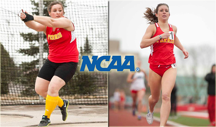 Pilling, Osika Pick Up All-Region Recognition & Set To Open NCAA Outdoor Championships