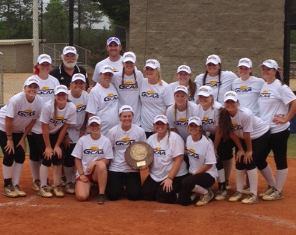 Softball makes History today by Winning the Conference Championship to Advance to Nationals