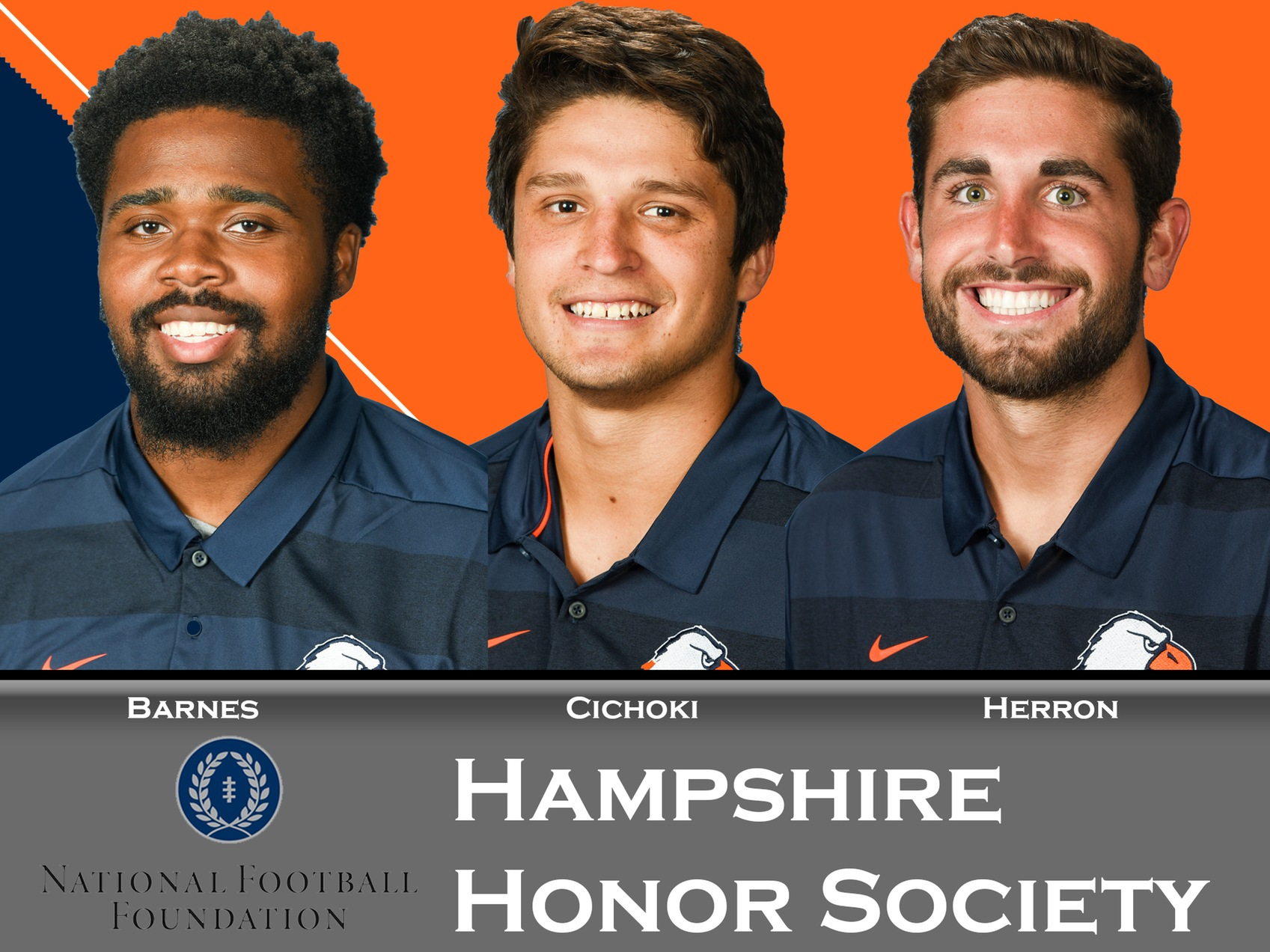 Three Eagles tabbed for induction into NFF Hampshire Honor Society