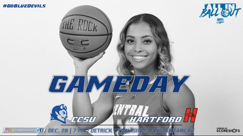 Women's Basketball Battles Hartford in Non-Conference Finale