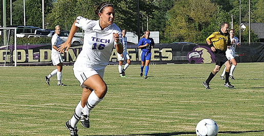 Soccer team suffers in overtime; Golden Eagles fall 1-0 to Radford