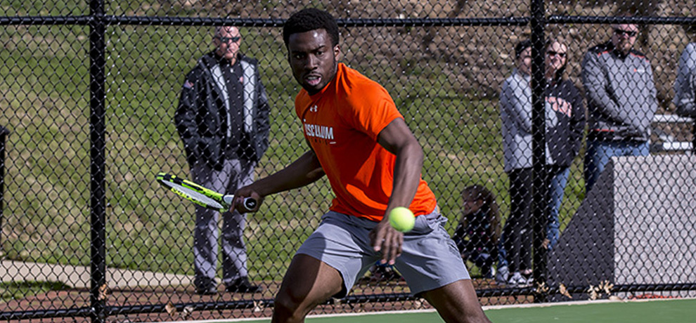 Pioneers rally to defeat 34th-ranked Bluefield State 4-2