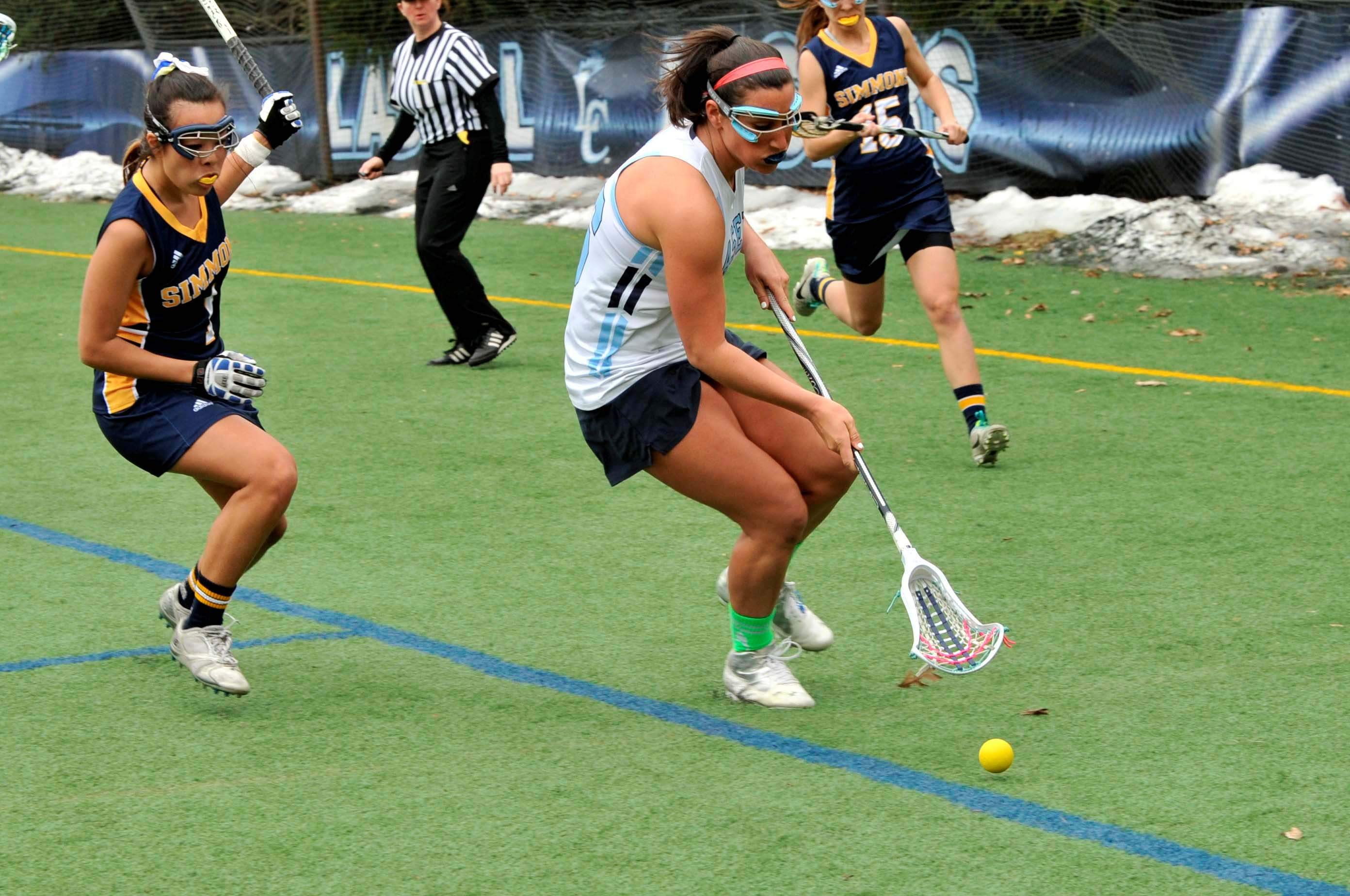 Women's Lacrosse Bounces Back with 24-12 Win at Mount Ida