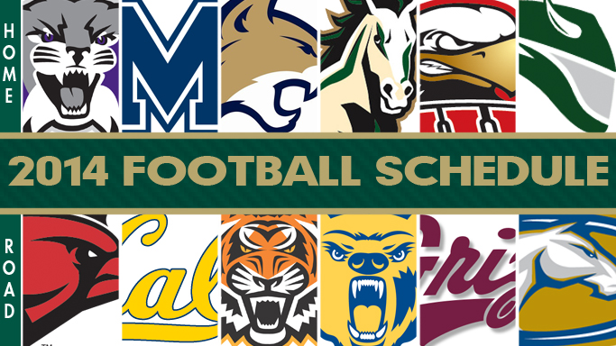 FOOTBALL ANNOUNCES 2014 SCHEDULE