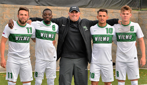 Men's Soccer Can't Find the Back of the Net in 1-0 Setback to Nyack on Senior Day